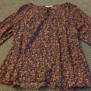 Jack by BB Dakota Floral Women's Blouse